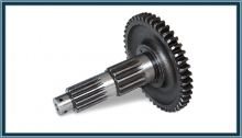 Shaft 50-1701252 MTZ